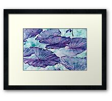 Botanical Surrealism #redbubble #lifestyle Framed Print