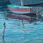 Working boat by Freda Surgenor
