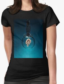 Ripe for the Harvest / Sci-fi human clones Womens Fitted T-Shirt