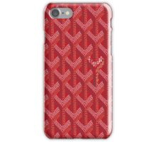 Goyard Red Phone Cases/Skins iPhone Case/Skin