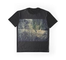 Sparrow on Barbed Wire Graphic T-Shirt