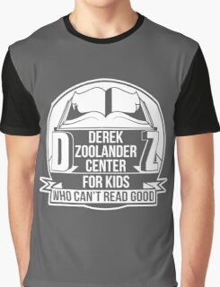 Derek Zoolander Center Graphic T-Shirt