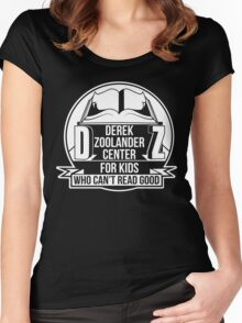 Derek Zoolander Center Women's Fitted Scoop T-Shirt
