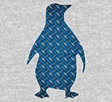 Diamond Plate Penguin One Piece - Long Sleeve