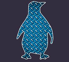 Diamond Plate Penguin Unisex T-Shirt