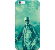 Lord Bonehead VINTAGE GREEN iPhone Case/Skin