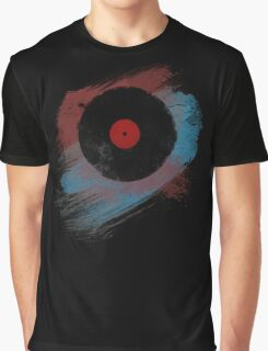 Vinyl Record - Modern Vinyl Records Grunge Design - Tshirt and more Graphic T-Shirt