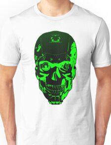 Gamer Skull CARTOON GREEN Unisex T-Shirt