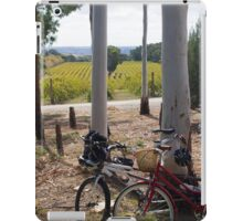 Wine and ride iPad Case/Skin