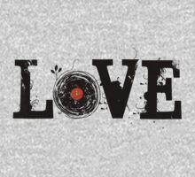 Love Vinyl Records Baby Tee