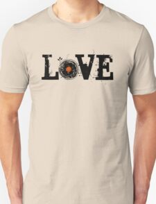 Love Vinyl Records Unisex T-Shirt