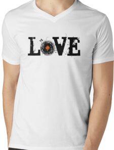 Love Vinyl Records Mens V-Neck T-Shirt