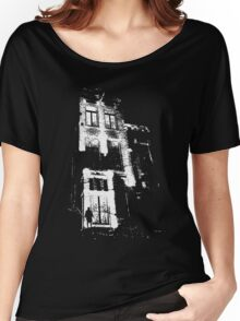The door is open and the lights are on...  Urban TSHIRT Women's Relaxed Fit T-Shirt