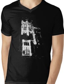 The door is open and the lights are on...  Mens V-Neck T-Shirt
