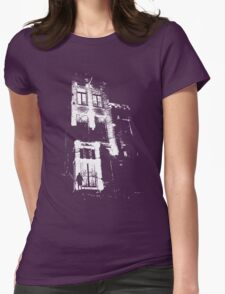 The door is open and the lights are on...  Urban TSHIRT Womens Fitted T-Shirt