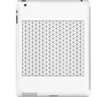 Isometric Grid. iPad Case/Skin