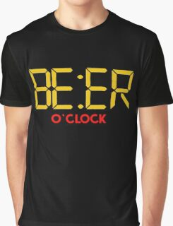 Is It Beer O Clock Graphic T-Shirt