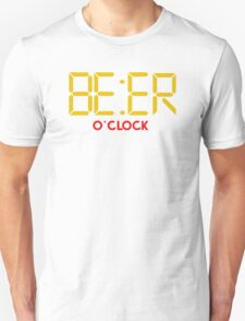 Is It Beer O Clock Unisex T-Shirt