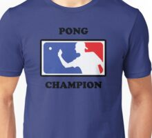 Pong Champion Unisex T-Shirt