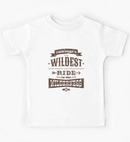 Big Thunder Mountain - Wildest Ride Kids Tee