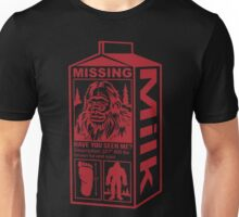 Sasquatch Milk Carton Unisex T-Shirt