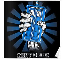 Don't Blink - Doctor Who Poster