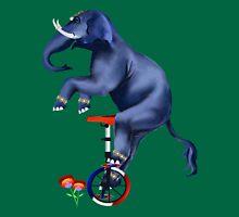 Elephant-Unicycle Tank Top