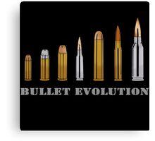 Bullet Evolution Canvas Print