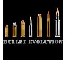 Bullet Evolution Photographic Print