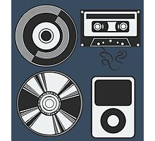 The Evolution of Music Photographic Print