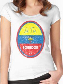 Copa America 2016 - Ecuador Women's Fitted Scoop T-Shirt