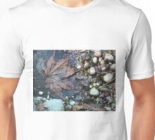 Leaf and Pebbles Unisex T-Shirt