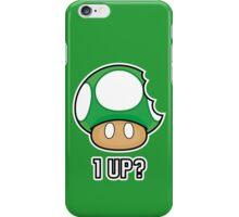 Super Mario, 1 UP Mushroom iPhone Case/Skin