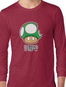 Super Mario, 1 UP Mushroom Long Sleeve T-Shirt