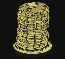 Tower Of Pancakes Baby Tee