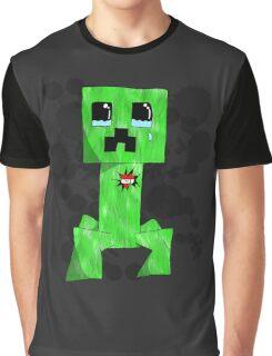 sad creeper ;-; Graphic T-Shirt