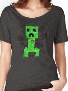 sad creeper ;-; Women's Relaxed Fit T-Shirt