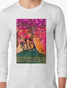 Let's Play Music Long Sleeve T-Shirt