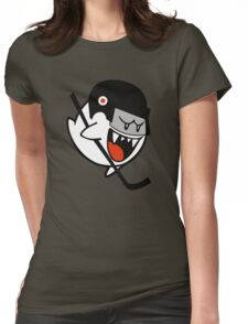 THE GHOST HOCKEY Womens Fitted T-Shirt