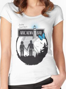 Life Is Strange Arcadia Bay Women's Fitted Scoop T-Shirt