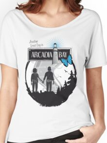 Life Is Strange Arcadia Bay Women's Relaxed Fit T-Shirt