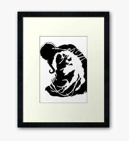 Venom/Carnage Framed Print