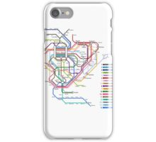Rail Map of Gensokyo iPhone Case/Skin