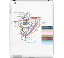 Rail Map of Gensokyo iPad Case/Skin