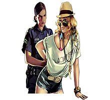 GTA police  Photographic Print