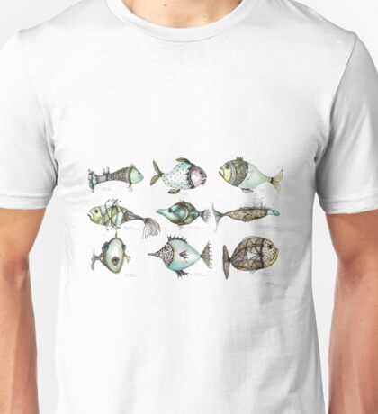 Species of fish in the imaginary world Unisex T-Shirt