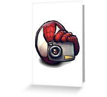 Spiderman Greeting Card