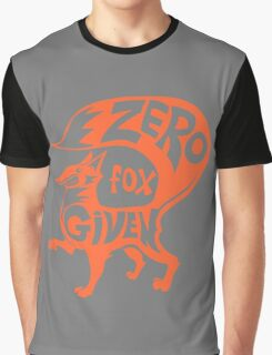 Zero Fox Given Graphic T-Shirt