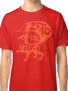 Zero Fox Given Classic T-Shirt