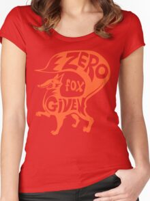 Zero Fox Given Women's Fitted Scoop T-Shirt